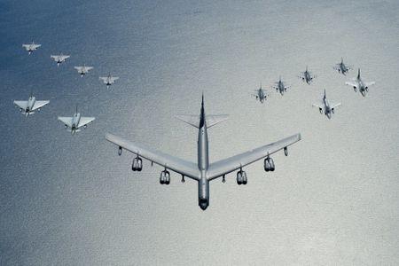 Khong quan NATO thi uy suc manh gan bien gioi Nga - Anh 2
