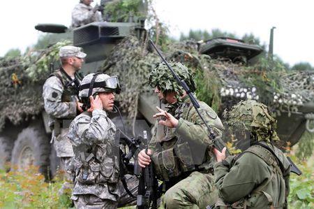 Ban tin 20H: NATO tap tran phan ung nhanh tai Litva - Anh 1