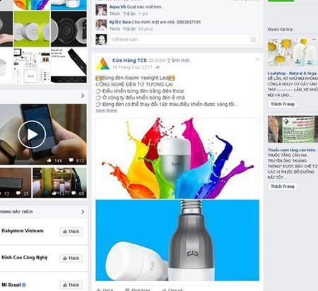 Facebook thach thuc website thuong mai dien tu - Anh 1