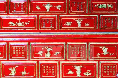 Don bang cong nhan Di san tu lieu tho van tren kien truc cung dinh Hue - Anh 1