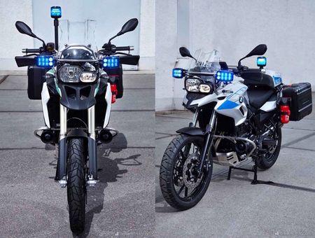 BMW Motorrad ra mat loat xe moto cho canh sat moi - Anh 3