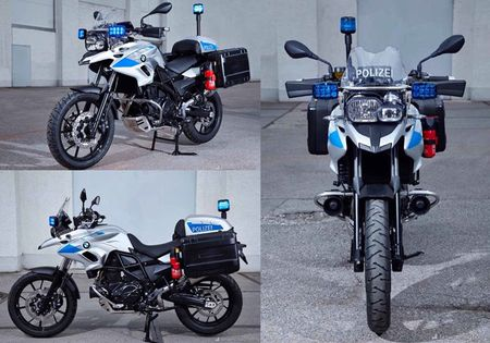 BMW Motorrad ra mat loat xe moto cho canh sat moi - Anh 4
