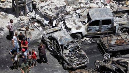 Danh bom khung bo o Damascus: IS len tieng la ke chu muu - Anh 1