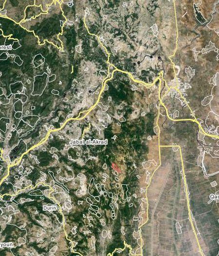 Quan doi Syria that bai khi tan cong Kabani, Latakia - Anh 1