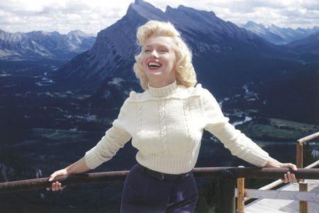Nhung buc anh de doi cua 'bieu tuong sex' Marilyn Monroe - Anh 1