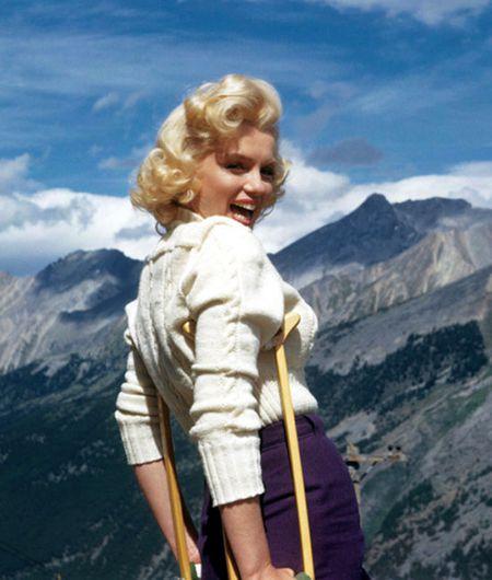 Nhung buc anh de doi cua 'bieu tuong sex' Marilyn Monroe - Anh 7