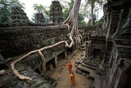 Phat hien thanh pho tu thoi Trung Co trong rung o Campuchia - Anh 1