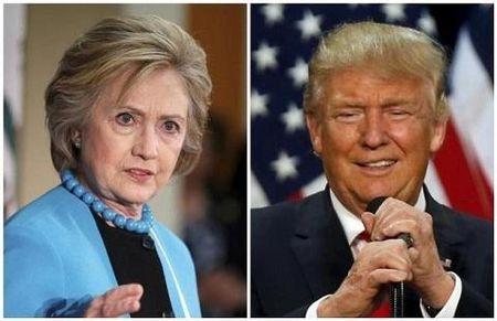 Hillary vuot matTrump trong cuoc dua vao Nha Trang - Anh 1