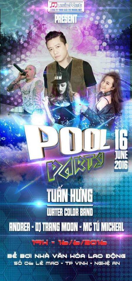 Su that kinh ngac ve Pool Party Vinh 2016 - Anh 1