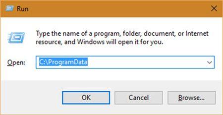 Thiet lap chuong trinh ve che do mac dinh trong Windows - Anh 5