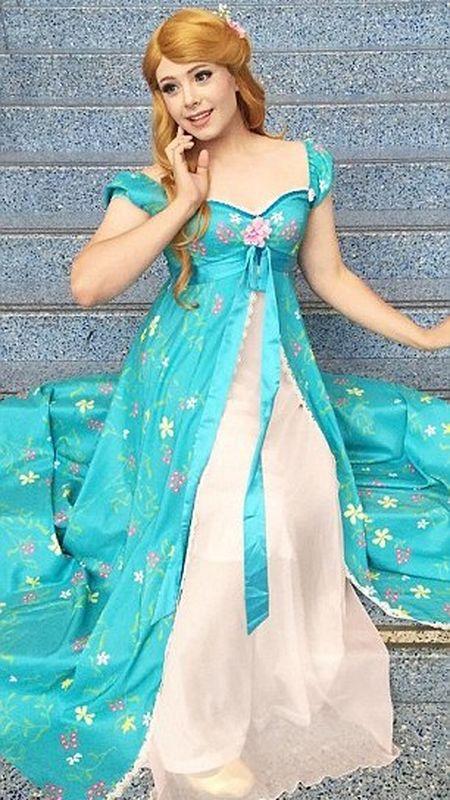 Chang trai hoa than thanh cong chua Disney - Anh 2