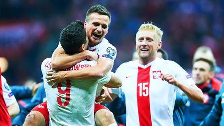 Ba Lan vs Bac Ireland (0-0, H1): Lewandowski xuat kich - Anh 15