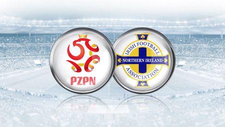 Ba Lan vs Bac Ireland (0-0, H1): Lewandowski xuat kich - Anh 16