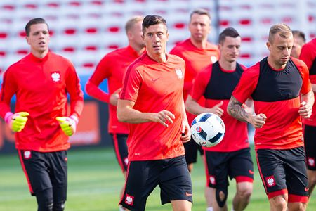 Ba Lan vs Bac Ireland (0-0, H1): Lewandowski xuat kich - Anh 5