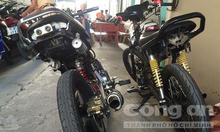 Bat giu 41 doi tuong to chuc dua xe trai phep tren cau Can Tho - Anh 4