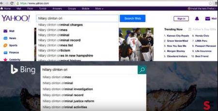 Google thien vi Clinton: That bai cua Donald Trump - Anh 1
