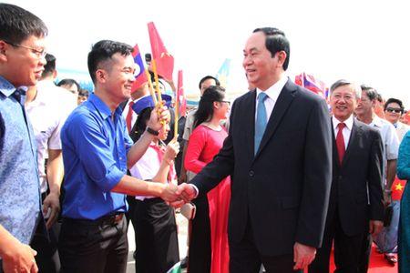 Chu tich nuoc: Viet Nam luon coi trong moi quan he dac biet voi Lao - Anh 3