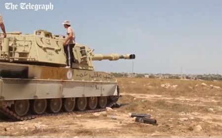 Quan doi Libya tien vao Sirte sau tran giao tranh ac liet voi IS - Anh 5