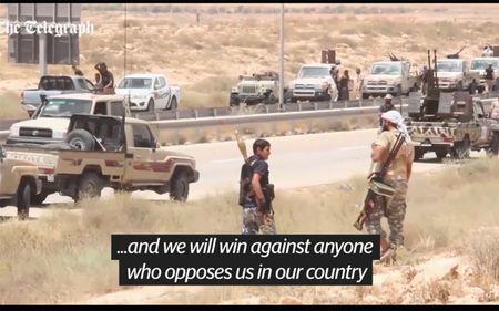 Quan doi Libya tien vao Sirte sau tran giao tranh ac liet voi IS - Anh 6