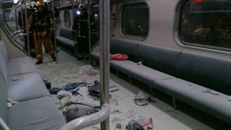 No tren tau o Dai Loan khien hang chuc nguoi bi thuong - Anh 1