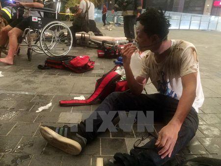 Nan nhan la liet tai hien truong vu no tren tau o Dai Loan - Anh 1