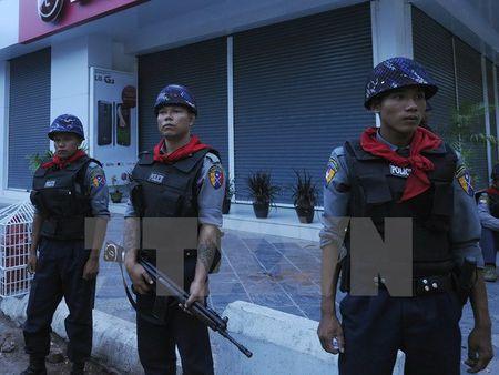 Myanmar va LHQ hop tac xay dung nang luc ngan chan khung bo - Anh 1