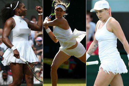 Loat vay ao ngan, ho, la gay on ao tai Wimbledon 2016 - Anh 1