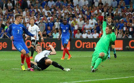 Antoine Griezmann ghi 2 ban, Phap ha Duc vao chung ket Euro 2016 - Anh 2