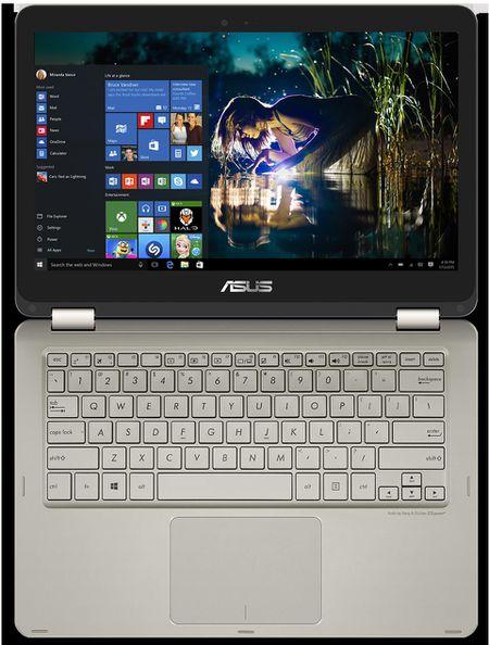 Asus ZenBook Flip UX360: tablet kiem laptop, gia tu 699$, nang chi 1.3kg, khong quat - Anh 7