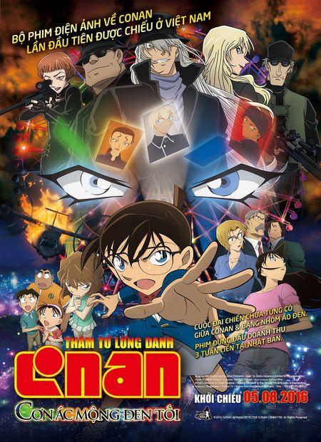 [Phim] Moi xem trailer hoat hinh Conan: Con ac mong den toi, ngay 5/8 chieu - Anh 1