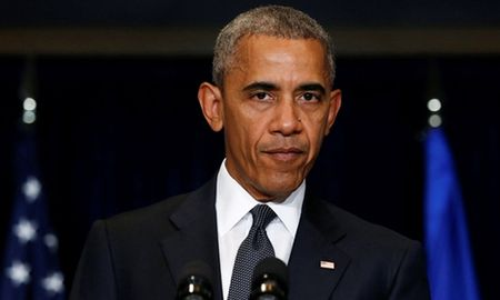 Tong thong Obama len an vu phuc kich canh sat o Dallas - Anh 1