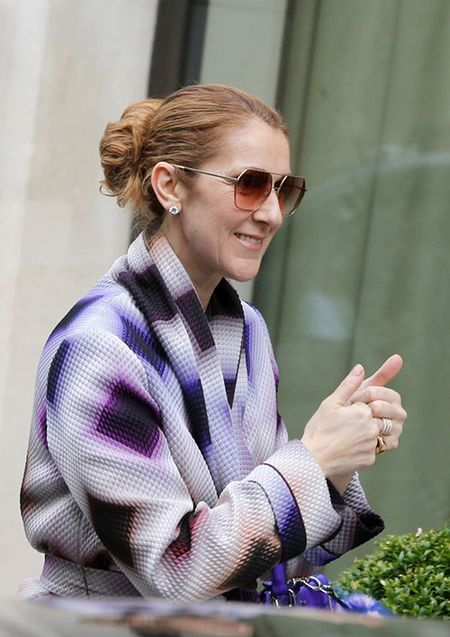 Celine Dion ngay cang mac dep! - Anh 1
