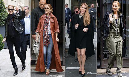 Celine Dion ngay cang mac dep! - Anh 9