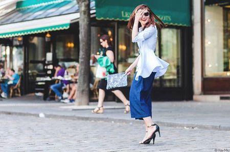 Phong cach an tuong cua fashionista Viet tren dat Phap - Anh 13