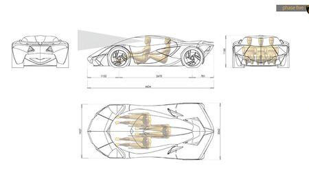 Mau concept Lamborghini Minotauro 2020 tuyet dep do sinh vien thiet ke - Anh 1