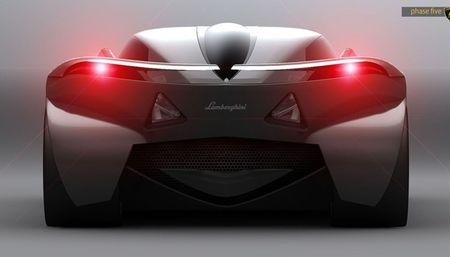 Mau concept Lamborghini Minotauro 2020 tuyet dep do sinh vien thiet ke - Anh 22