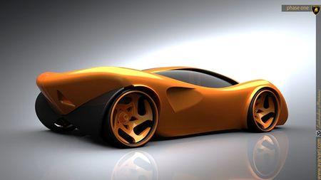 Mau concept Lamborghini Minotauro 2020 tuyet dep do sinh vien thiet ke - Anh 5