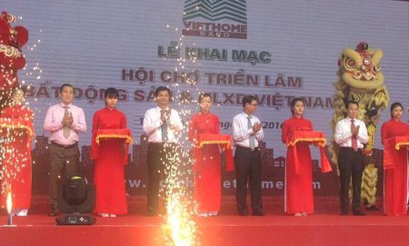 Khai mac VietHome Expo 2016 - Anh 1