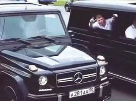Hang chuc diep vien Nga lai dan Mercedes G-Class gay nao loan - Anh 1