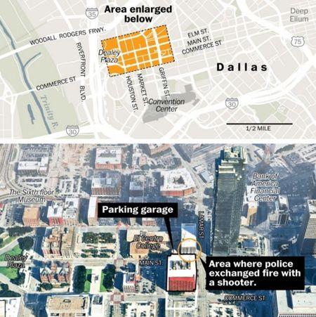 Vu ban canh sat tai Dallas: Tong thong Obama khang dinh, khong chi la van de da mau - Anh 1