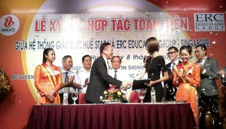 He thong giao duc Hue Star ky ket hop tac giao duc toan dien voi Tap doan giao duc danh tieng cua Singapore - ERC Education Group - Anh 1
