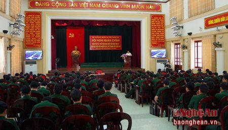 Bo CHQS Nghe An: Thuc hien tot nhiem vu huan luyen, san sang chien dau - Anh 1