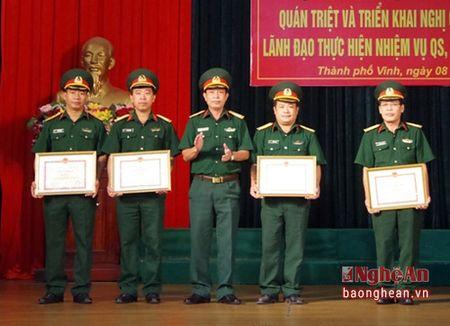 Bo CHQS Nghe An: Thuc hien tot nhiem vu huan luyen, san sang chien dau - Anh 3