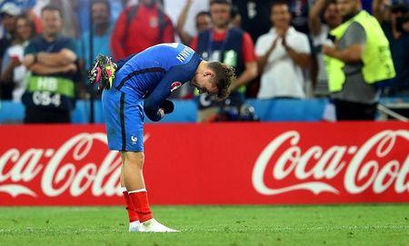 Vuot Zinedine Zidane, Antoine Griezmann pha ki luc ton tai 30 nam o cac ki EURO - Anh 1