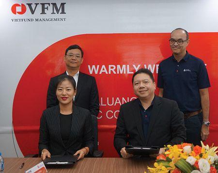 Chung chi quy ETF VFMVN30 giao dich tren san Han Quoc - Anh 1