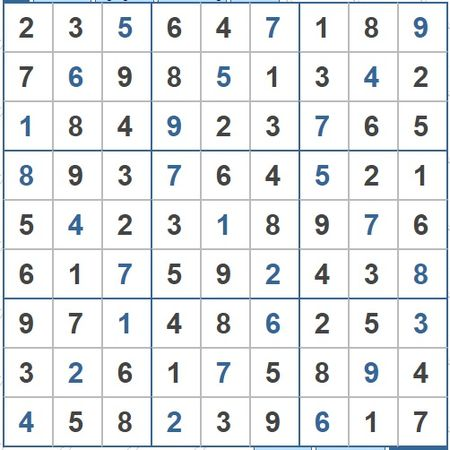 Moi cac ban thu suc voi o so Sudoku 3460 muc do Kho - Anh 2