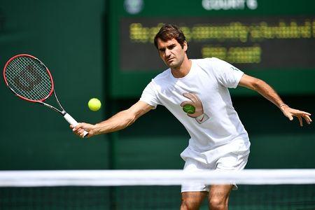 Federer 0-0 Raonic (0-0, Set 1): Viet tiep giac mo - Anh 1