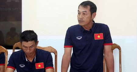 U16 Viet Nam ngai doi thu, Thai Son Nam len duong di Myanmar - Anh 1