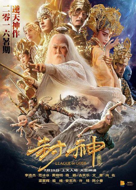Nhung hinh anh Ly Lien Kiet trong phim moi 'Phong than truyen ky' - Anh 5