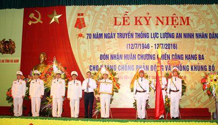 Cong an cac dia phuong Ky niem 70 nam Ngay truyen thong luc luong ANND - Anh 5